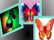 Spielen Butterflies on the wall puzzle