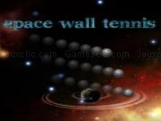 Spielen Space wall tennis