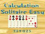 Play Calculation solitaire easy now