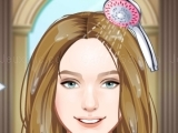 Play Cindirella hair salon now