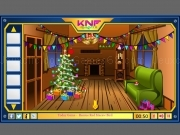 Spielen Knf Winter Wooden House Escape