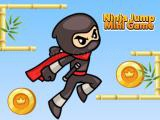 Spielen Ninja jump mini game now