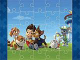Spielen Fun paw patrol jigsaw now