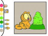 Spielen Garfield: coloring book now